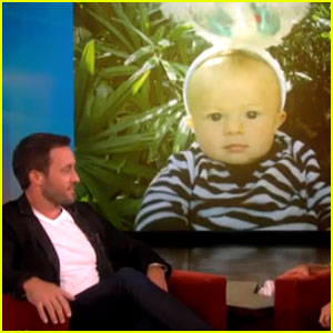 Alex O'Loughlin Shares Son Lion's First