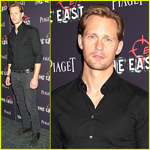 Alexander Skarsgard: 'The East' New York Premiere!