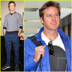 Armie Hammer: 'Lone Ranger' Japan Press Conference!