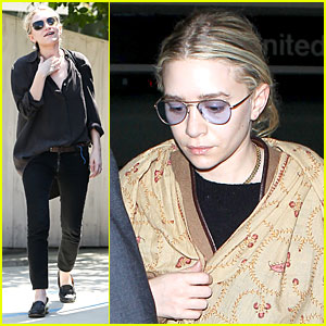Ashley Olsen: Shopping Trip After LAX Arrival!
