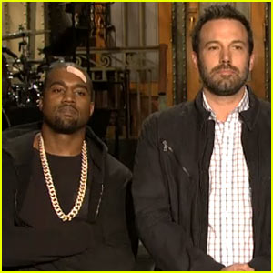Ben Affleck &#038; Kanye West: 'Saturday Night Live' Promos!