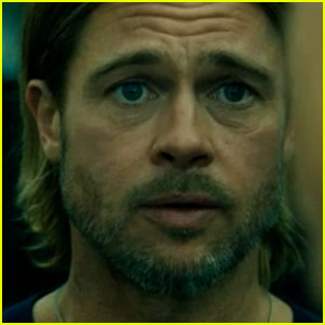 Brad Pitt Can't Leave Family in New 'World War Z' Clip