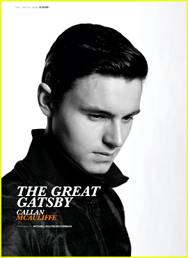 Callan McAuliffe to 'Glow' Magazine: Leonardo DiCaprio is a 'Terrific Guy'