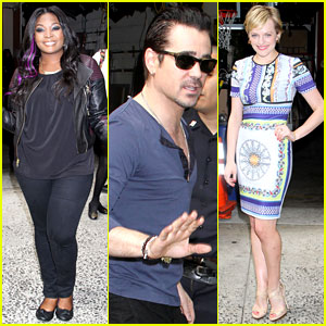 Candice Glover & Colin Farrell: 'Kelly & Michael' Guests!