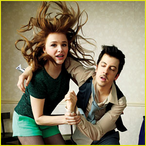 Chloe Moretz & Christopher Mintz-Plasse: 'Kick-Ass 2' Feature for 'GQ'