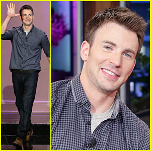 Chris Evans: 'Jay Leno' Appearance with Kevin Smith!