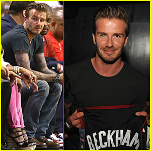 David Beckham: Miami Heat Conference Final Playoff Game!