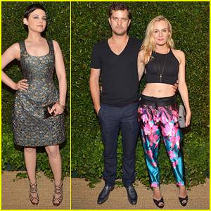 Diane Kruger & Joshua Jackson: 'Vogue' MAC Cosmetics Dinner!