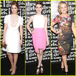Dianna Agron & Emma Roberts: 'These Girls' Presentation!
