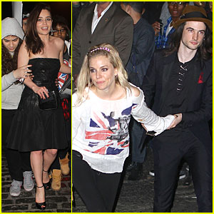 Emilia Clarke & Sienna Miller - Met Ball 2013 After Party!