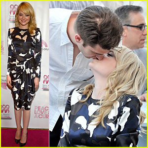 Emma Stone & Andrew Garfield: Triple Negative Breast Cancer Foundation Benefit!