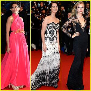 Freida Pinto & Lana Del Rey: Cannes Opening & 'Gatsby' Premiere!