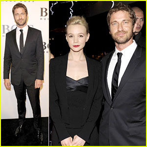 Gerard Butler & Carey Mulligan: Hugo Boss Show in Shanghai!
