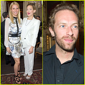 Gwyneth Paltrow & Chris Martin: Goop's Summer Season Launch Party!