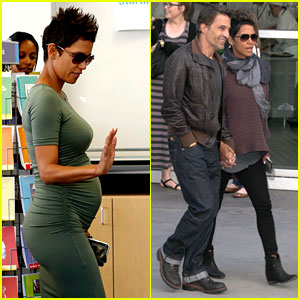 Halle Berry High Fives Nahla After Olivier Martinez Movie Date!