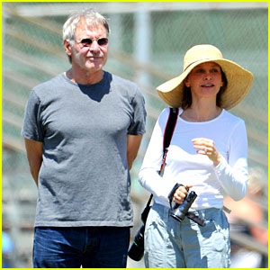 Harrison Ford & Calista Flockhart: Liam's Soccer Game!