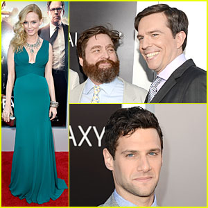 Heather Graham & Zach Galifianakis: 'The Hangover Part III' Premiere!