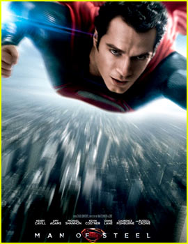 Henry Cavill: 'Man of Steel' Poster!