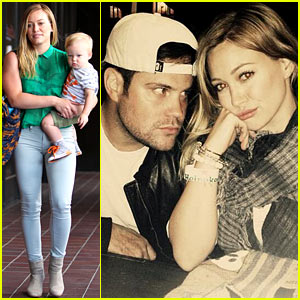 Hilary Duff: 'Feeling Green' with Baby Luca!