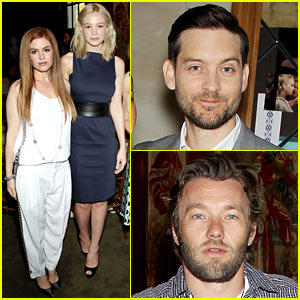 Carey Mulligan & Isla Fisher: 'Great Gatsby' Luncheon!