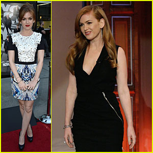 Isla Fisher Performs Magic Trick on 'Leno'!