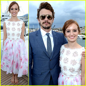 James Franco & Ahna O'Reilly: Art of Elysium's Cannes Event!