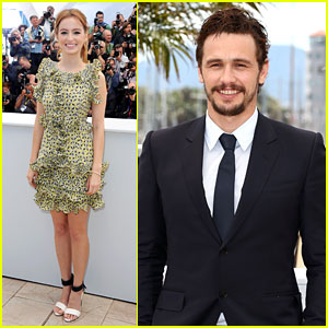James Franco & Ahna O'Reilly: 'As I Lay Dying' Cannes Photo Call!
