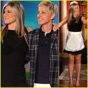 Jennifer Aniston Wears Maids