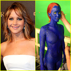 Jennifer Lawrence in 'X-Men: Days of Future Past': First Look Pic!