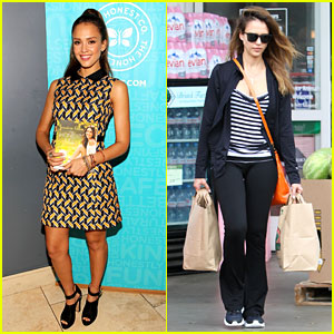 Jessica Alba: 'Honest Life' Book Signing in Maryland!