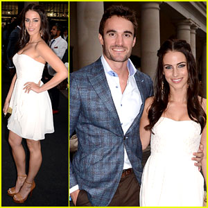 Jessica Lowndes & Thom Evans: Casio London Birthday Party!