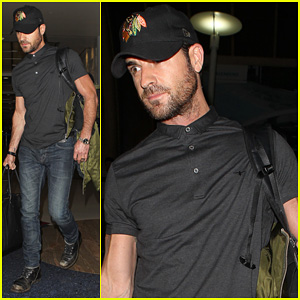 Justin Theroux: From New York to LAX!
