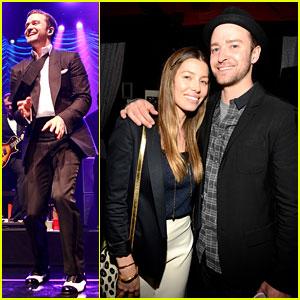 Justin Timberlake: MasterCard Concert with Jessica Biel!