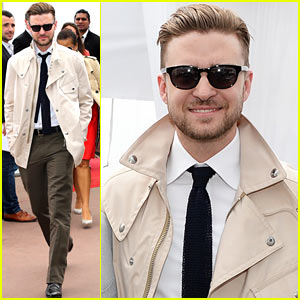 Justin Timberlake: Torch Cannes 'Spinning Gold' Celebration!