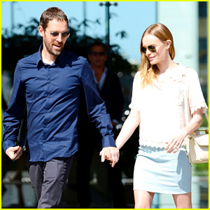 Kate Bosworth & Michael Polish Head to Lunch After Meeting