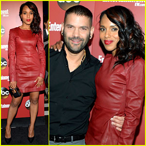 Kerry Washington: ABC Upfront Party with 'Scandal' Cast!