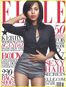 Kerry Washington Covers 'Elle' June 2013