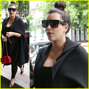 Kim Kardashian: Paris Vacation is Last Trip Before Baby's Birth!