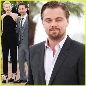 Leonardo DiCaprio & Carey Mulligan: 'Great Gatsby' Cannes Photo Call!