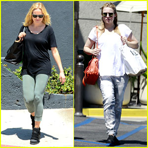 Malin Akerman &#038; Kristen Bell: New Mamas in Hollywood!