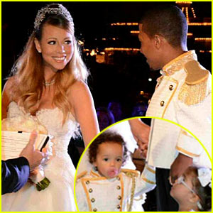 Mariah Carey & Nick Cannon Renew Wedding Vows at Disney!