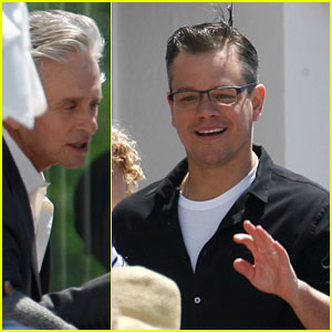 Matt Damon: Family Lunch with Michael Douglas