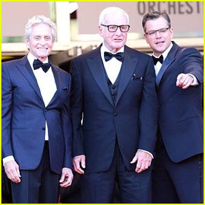 Matt Damon & Michael Douglas: 'Candelabra' Cannes Premiere!