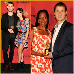 Matt Smith & Ben McKenzie: Peabody Award Winners!
