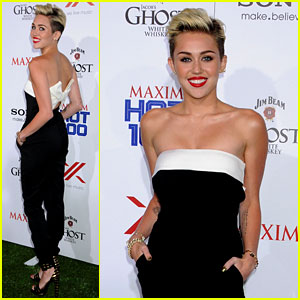 Miley Cyrus: Maxim Hot 100 Party 2013!