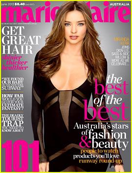 Miranda Kerr Covers 'Marie Claire Australia' June 2013