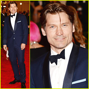 Nikolaj Coster-Waldau - Met Ball 2013 Red Carpet