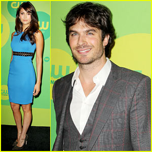 Nina Dobrev & Ian Somerhalder: CW Upfronts After Breakup
