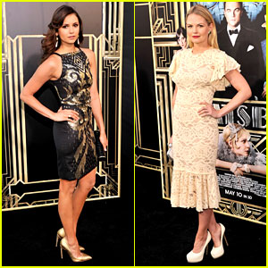 Nina Dobrev & Jennifer Morrison: 'Great Gatsby' Premiere!