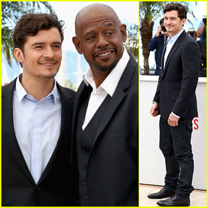 Orlando Bloom & Forest Whitaker: 'Zulu' Photo Call